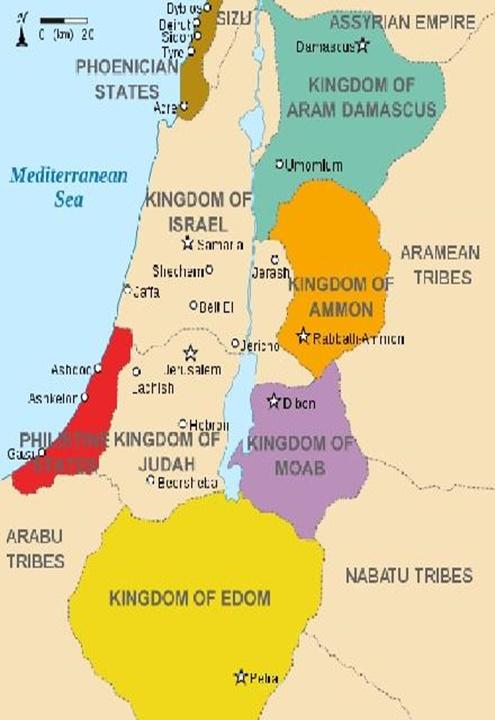 중동지도의 변천